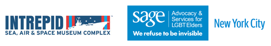 Intrepid Museum and SAGEVets logos