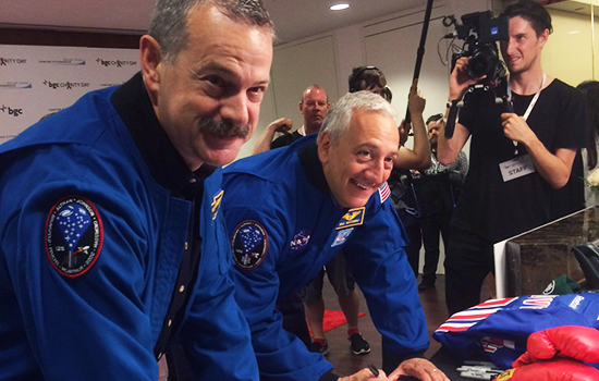 Former NASA Astronauts Mike Massimino and Scott Altman to Represent the Intrepid Museum at Annual BGC Charity Day