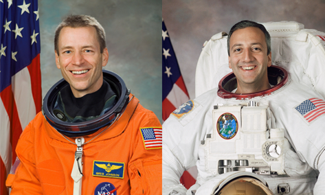 Mike Massimino and Gregory C. Johnson