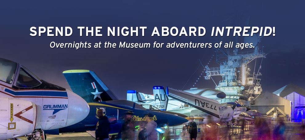 Operation Slumber Overnights @ Intrepid Museum