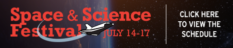 This year's Space & Science Festival celebrates the 50th anniversary of Star Trek! Learn how science fiction has become science fact, and discover the future of space exploration at our annual festival of science, design and innovation!