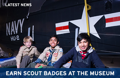 Earn Scout Badges at the Museum