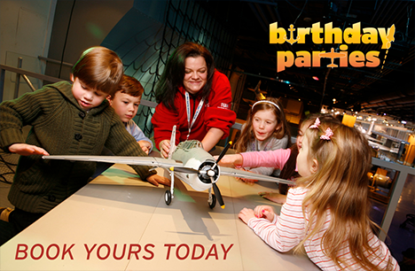 Birthday Parties at The Intrepid Museum