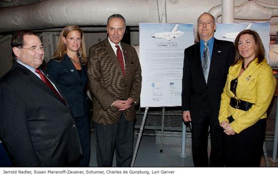 NYC Civic Leaders and NASA Officials