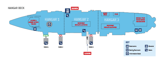 Hangar Deck Map
