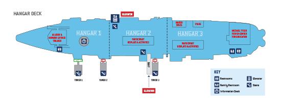 Hangar Deck Map