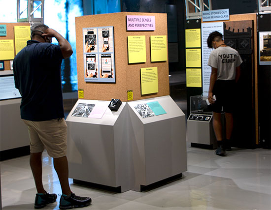 Making History Accessible Exhibit