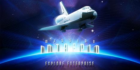 Download the iPhone App             Mission Intrepid: Explore Enterprise