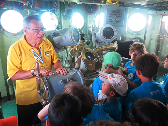 The Intrepid Museum Kicks Off Camp Intrepid Summer 2015!