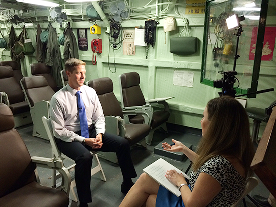 Travis Patton, son of Intrepid aviator, shares why the Intrepid Museum matters