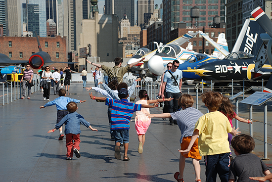 Summer Fun at the Intrepid!