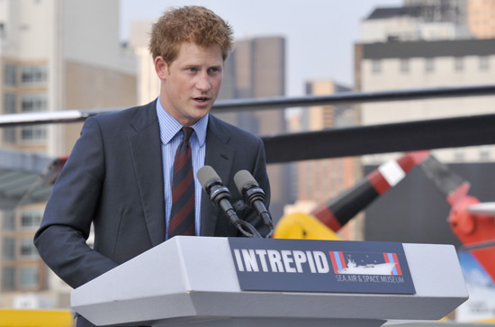 Prince Harry speaks on the importance of supporting wounded warriors