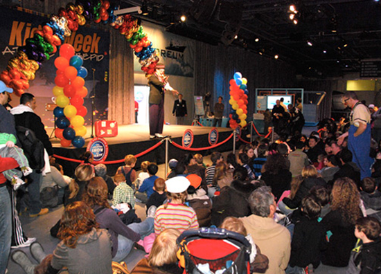Intrepid Museum Kids Week 2012