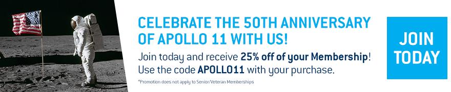 Celebrate the 50th Anniversary of Apollo 11 with us!