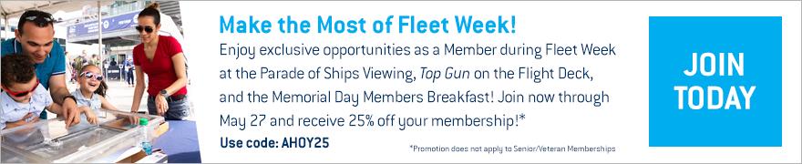 Fleet Week Membership Offer