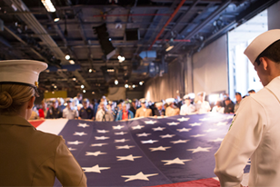 Intrepid After Hours invites military veterans and service members to experience the Museum at night. Explore the Museum without the crowds, and then join peers for conversation, a creative exercise and a catered dinner.
