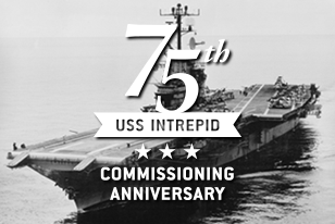 Intrepid's 75th Commissioning Anniversary
