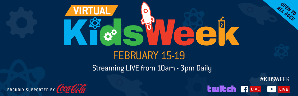 Kids Week header banner