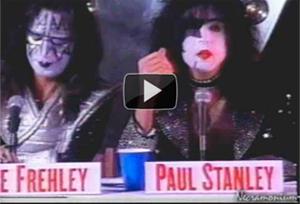 1996 - KISS - Press Conference U.S.S Intrepid
