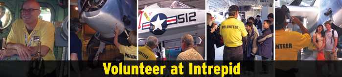 Volunteer at Intrepid