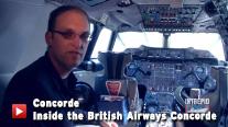 Inside the British Airways Concorde