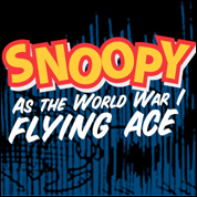 Snoopy as the World War I Flying Ace