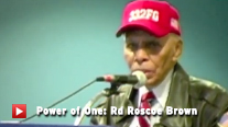 Doctor Roscoe Brown - Intrepid Museum Power of One