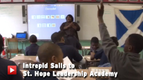 Intrepid Sails to St. Hope Leadership Academy