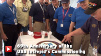 69th Anniversary of the USS Intrepid's Commissioning