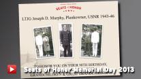 Seats of Honor Memorial Day 2013