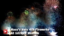 Macy's July 4 Fireworks at the Intrepid Museum