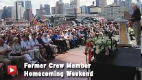 Intrepid Museum's Former Crew Member Homecoming Weekend