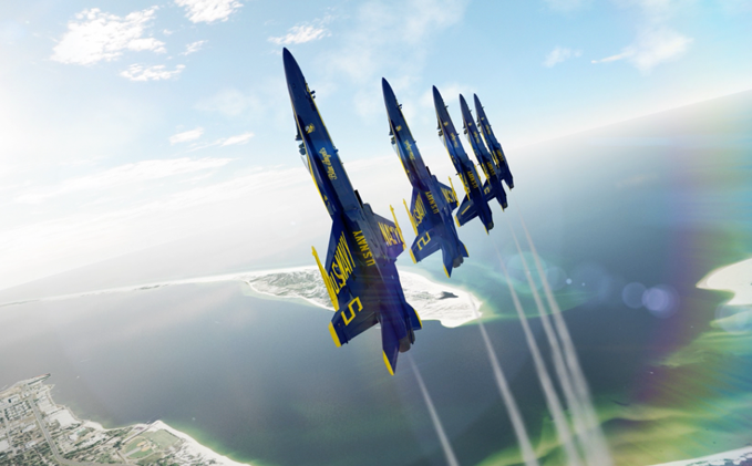 TRANSPORTER: BLUE ANGELS