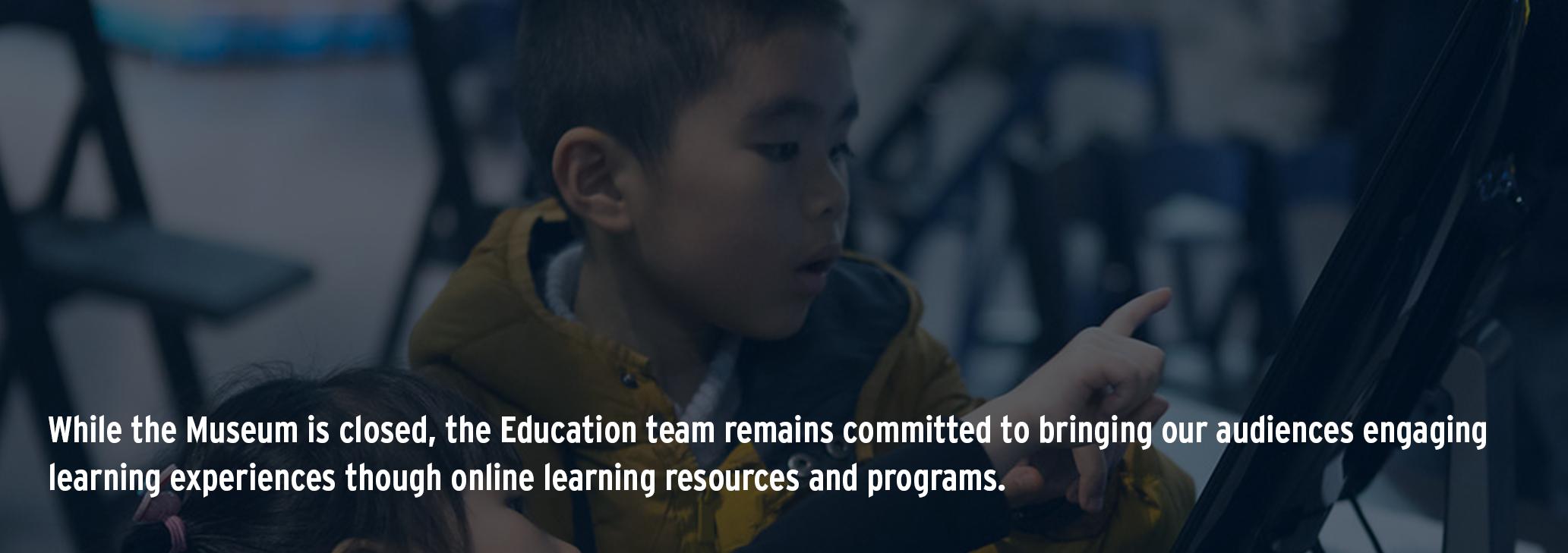 Education programs at Intrepid