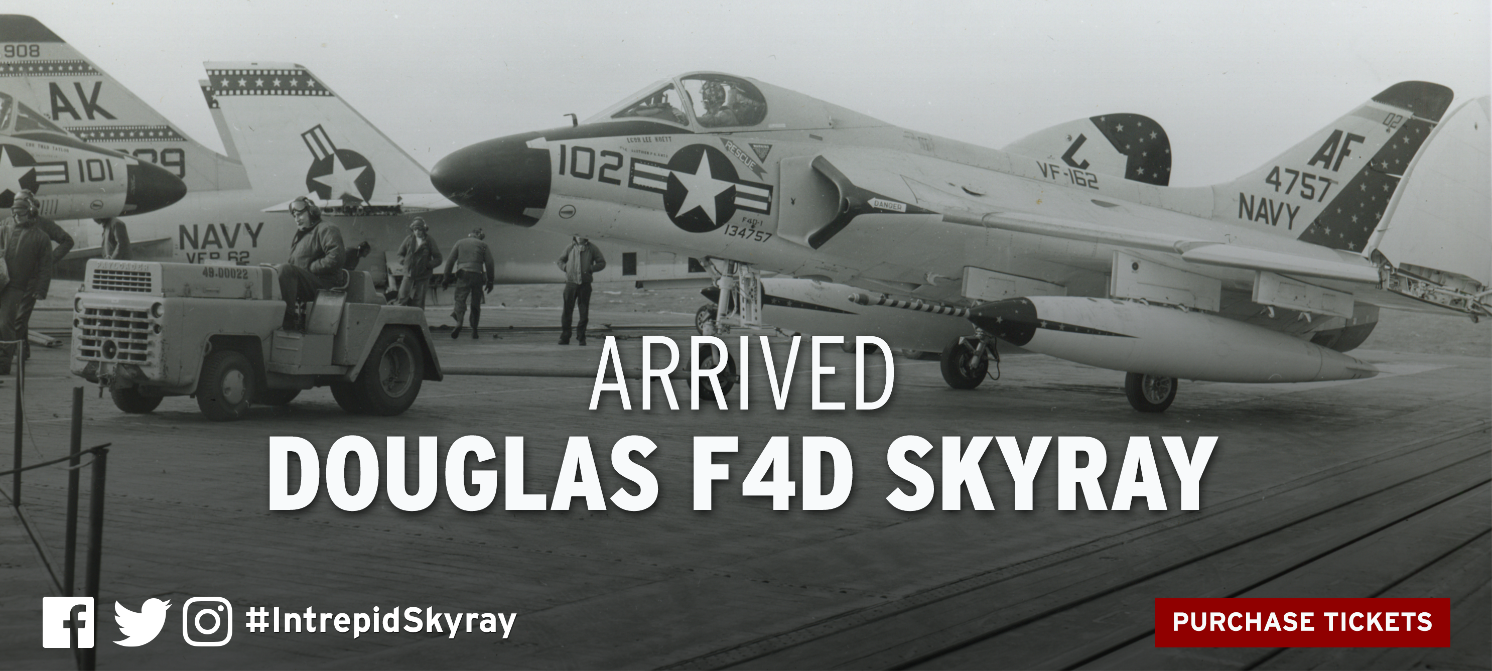 Intrepid Museum Acquires New Historic Aircraft: Douglas F4D Skyray